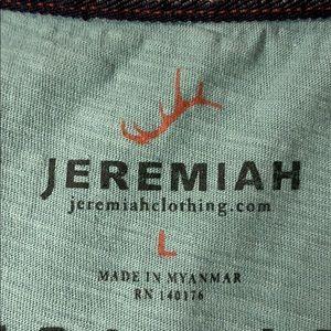Jeremiah Shirts - Jeremiah Henley short sleeve t shirt